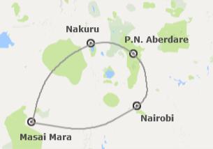 Kenia: Safari en Kenia con Masai Mara y Nairobi
