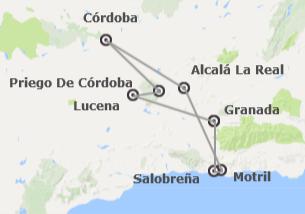 Andalucía: Granada y la Ruta del Califato
