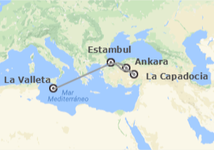 Turquía y Malta: Estambul, Ankara, Capadocia y Malta