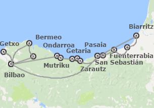 País Vasco y Sur de Francia: Ruta por la Costa Vasca con Biarritz y San Juan de Luz