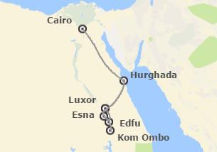 Egipto: VIT CLUB - Cairo + Crucero Nilo + Hurghada