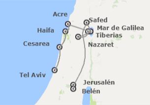 Israel: De Tel Aviv a Jerusalén