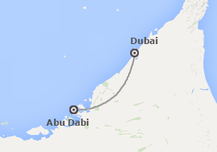 Emiratos Árabes: Dubái y Abu Dhabi