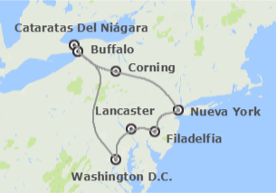 EEUU: Nueva York, Washington y Filadelfia