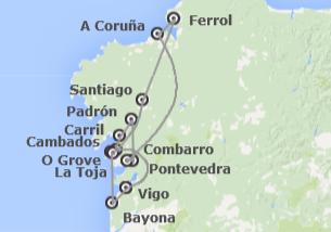 Galicia: Ruta del Camino de Santiago