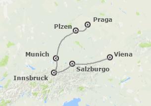 Centroeuropa: Viena, Baviera y Praga