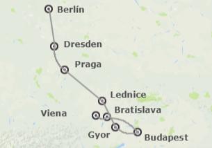 Centroeuropa: Berlín, Praga, Budapest y Viena