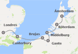 Inglaterra y Países Bajos: Londres y Países Bajos