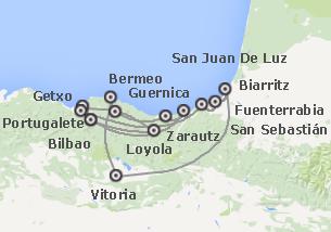 Norte de España: Bilbao, Donostia, País Vasco francés y Vitoria-Gasteiz