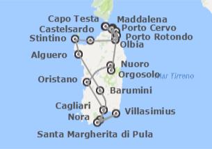 Italia: Cerdeña desde Alghero