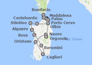 Italia: Cerdeña desde Cagliari