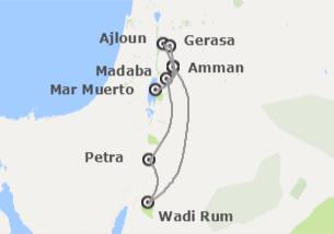 Jordania: Jordania con noche en Wadi Rum