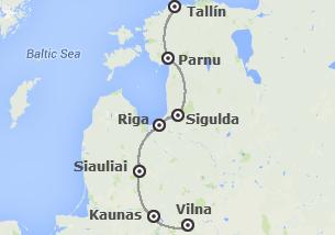 Norte de Europa: Vilnius, Riga y Tallin