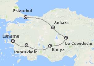 Turquía: Estambul, Ankara, Capadocia, Pamukkale y Esmirna