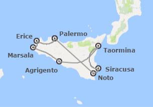 Italia: Sicilia desde Palermo
