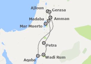 Jordania: Jordania con noche en Aqaba