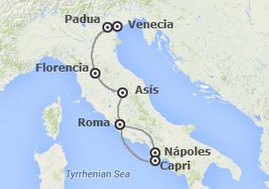 Italia: De Venecia a Roma