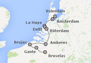 Noroeste de Europa: Holanda y Bélgica