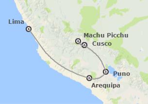 Perú: Lima, Arequipa, Cusco y Lago Titicaca