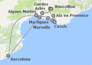 Sur de Europa: Camarga y Provenza desde Barcelona