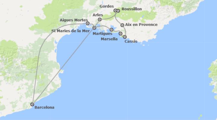 Combinado: Camarga y Provenza desde Barcelona
