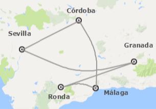 Sur de España: Andalucía y Gibraltar