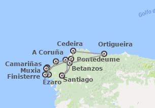 Galicia: Rías Altas, Fisterra y Costa da Morte