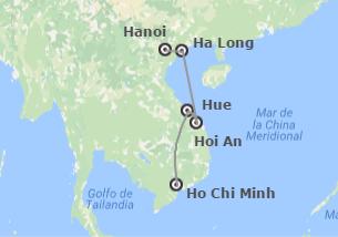 Vietnam: De Hanoi a Saigón