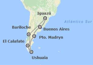 Argentina: Buenos Aires, Península Valdés, Patagonia e Iguazú