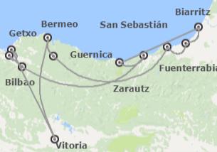 España y Francia: País Vasco y País Vasco Francés