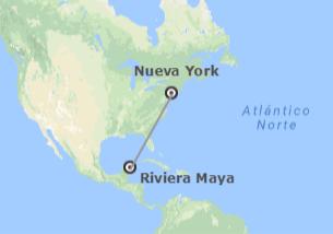 EEUU y México: Nueva York y Riviera Maya