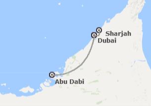 Emiratos Árabes: Dubái, Sharjah y Abu Dhabi