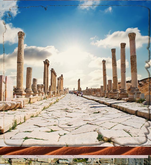 Circuito Jordania : Jordania amman mar muerto madaba petra y wadi rum