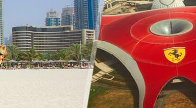 Emiratos Árabes: Abu Dabi con Ferrari World y Dubai Esencial