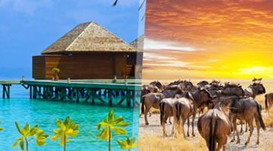 Kenia y Maldivas
