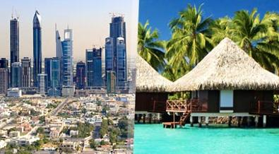 Dubai con Maldivas