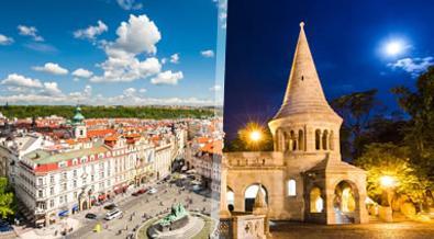 Praga y Budapest Esencial A Tu Aire en tren