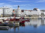 Vuelos baratos Santander A Coruña, SDR - LCG