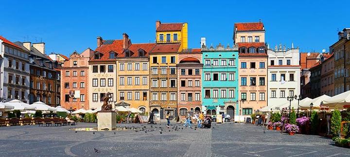Mejor precio de Frankfurt a Varsovia