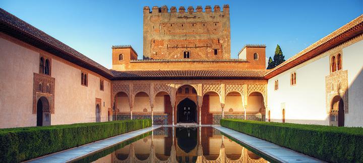 Vuelos baratos de Santiago de Compostela a Granada