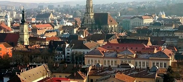 Vuelos baratos de Barcelona a Cluj-napoca