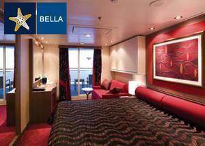 Categoría B1 - Exterior con balcón Bella B1