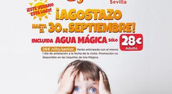 Oferta entrada Isla Mágica + Agua Mágica - Domingos y Lunes | notengoplan
