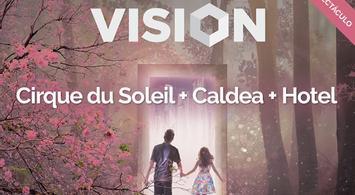 Cirque du Soleil + Caldea + Hotel | notengoplan