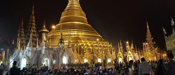 Hoteles en Rangún