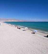 mejor playa espana roquetas