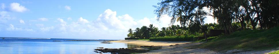 Playas con aguas tranquilas y cristalinas