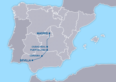 AVE Madrid Sevilla