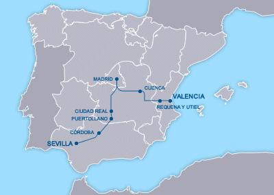 AVE Valencia Madrid