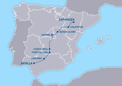 AVE Zaragoza Sevilla